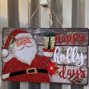Christmas Santa  Rustic Decorations🎄🆕🎄